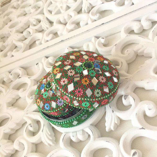 boites à secrets berberes vert