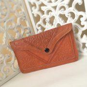 pochette marocaine marron